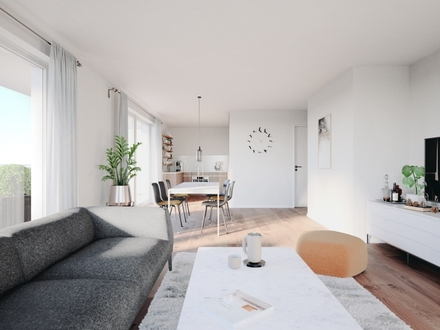 Hochwertige Wohnung mit eigenem Gartenanteil