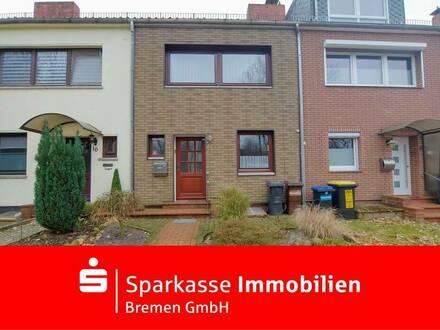 Gepflegtes Reihenmittelhaus in bester Lage von Bremen-Lüssum