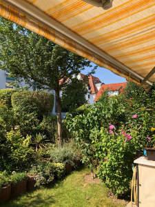 Ruhige Gartenwohnung im Herzen von Ludwigsburg