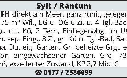 Sylt / Rantum EFH