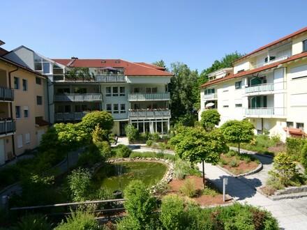 Ideal für Senioren: Barrierefreies Appartement mit Einbauküche und Terrasse, Nähe Klinikum