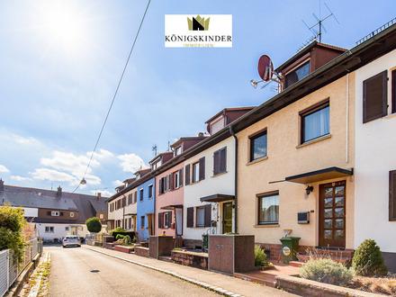 Aufgepasst! Zentrales Reihenmittelhaus mit schönem Garten in Stuttgart-Ost