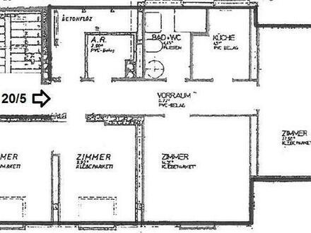 4 Zimmer- Wohnung im Dachgeschoss