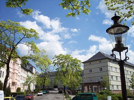 Süße Balkonwohnung im Wissmannhof