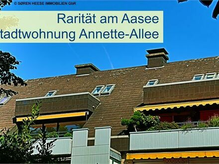 MS-Aasee! Rarität: Das Haus im Haus in Münsters Annette-Allee!