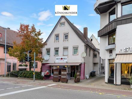 Ideales Kapitalobjekt: 3-Familienhaus mit Ladengeschäft in Kirchheim/Teck