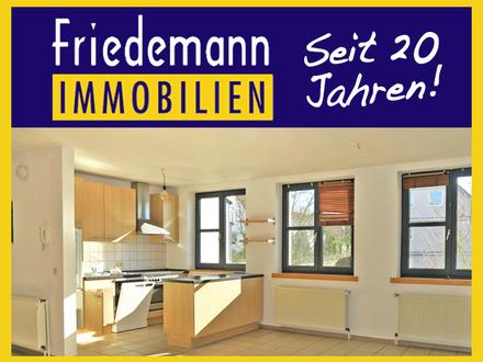 Moderne und helle 4 Zimmer-Maisonette-Wohnung mit Balkon, Kaminofen und PKW-Stellplatz in Löhne - Gohfeld
