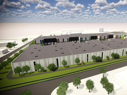 Neubau Hallenflächen in verkehrsgünstiger Lage von Steinhagen