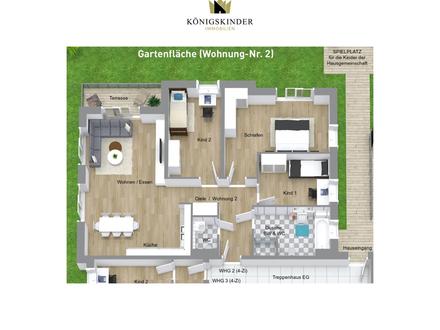 NEUBAU: Exklusive 4-Zi-Wohnung mit 92 m² im Rems-Murr-Kreis!