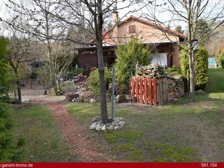 Ein gemauertes Wochenendhaus für Sommer und Winter nahe Bad Dürkheim!