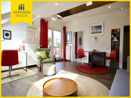 Möblierte 1,5-Zimmerwohnung im Dachgeschoss in Hanau