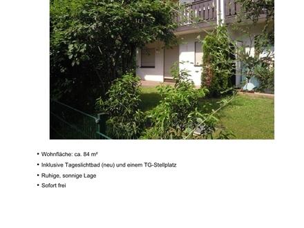 3-Zimmer-Wohnung, EG, Gartenanteil, TG-Platz in Goldbach