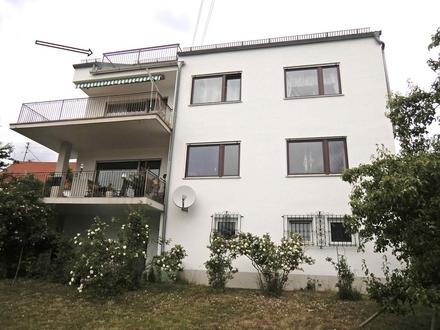 Sonnige und freundliche 2,5 ZKB mit Dachterrasse in Ottmarshausen