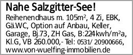 Nahe Salzgitter-See!