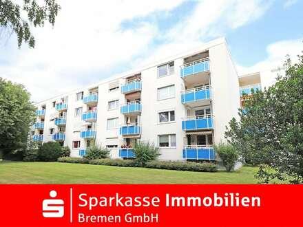 Schöne 2-Zimmer-Eigentumswohnung im gepflegten Mehrfamilienhaus in Bremen-Kattenturm