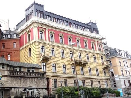 Preisreduzierung!Erstklassige Altbaumaisonette mit Wintgergarten im Palazzo, Teilanmietung denkbar!