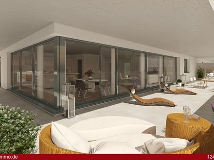 Exklusives Penthouse mit umlaufendem Balkon - hochwertige Einbauküche inklusive!