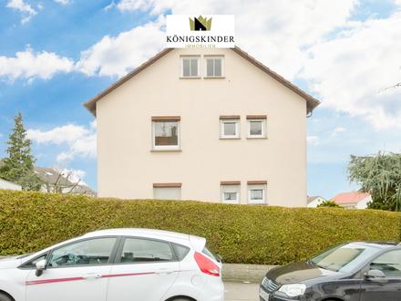 3-Zimmerwohnung mit Gartenanteil in 2-Familienhaus + Garage - renovierungsbedürftig