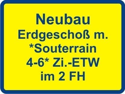 Kaufen ab € 1050,- mtl.* / Neubau 3-4 Zi. Luxus EG-ETW & ELW* od. Büro ! Keine Käuferprovision!