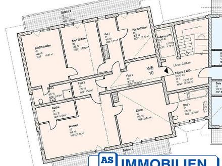 AS-Immobilien.com +++nicht alltägliche Großwohnung: zusammen wohnen - jeder in seinem Bereich +++