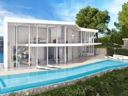 **F. Lidl Immobilien** Luxusvilla am Meer in Javea ND1116