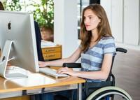 Trotz Behinderung gut ausgebildet