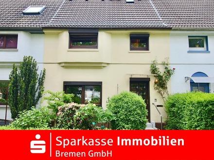 Reihenmittelhaus mit Potenzial in ruhiger und familiärer Wohnlage von Bremen-Blumenthal