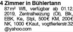4 Zimmer in Bühlertann