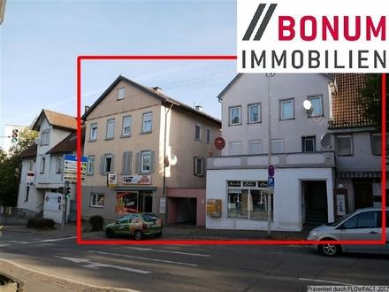 TOP-Immobilenpaket - zwei Wohn- und Geschäftshäuser in guter Stadtlage, Nähe S-Bahn-Station