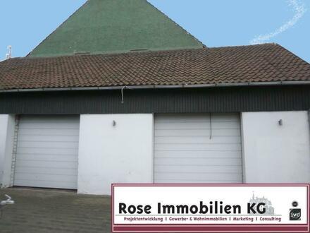 ROSE IMMOBILIEN KG: Werkstatt mit Ausstellung und/oder Lager in TOP - Lage an der B 482!