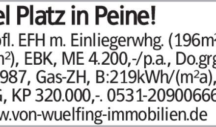 Haus in Peine (31226)