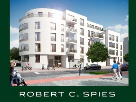 Wohnen mit Schwung: hochwertige 2-Zimmer-Wohnung mit 2 Balkonen im Münchner Bogen