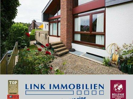 Repräsentativ und sonnig gelegen: Einfamilienhaus mit ELW | Nähe Naturschutzgebiet