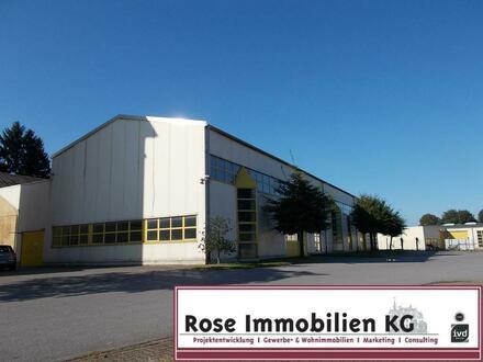 ROSE IMMOBILIEN KG: Lager-/ Produktion + Verwaltung auf einem großem Areal in Ahnsen!