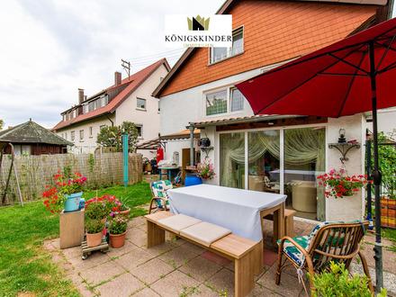 Moderne und gemütliche Doppelhaushälfte mit schönem Garten in Kornwestheim