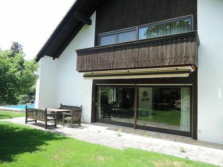 1 7 3 qm offenes Wohnflair + freier GALERIE- Treppe ins STUDIO plus POOL im Spielgarten + SAUNA