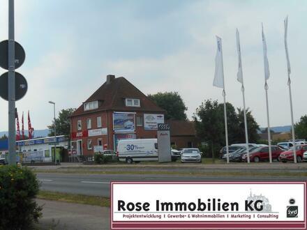 ROSE IMMOBILIEN KG: Büroflächen in zentraler Lage von Minden direkt am Ring!
