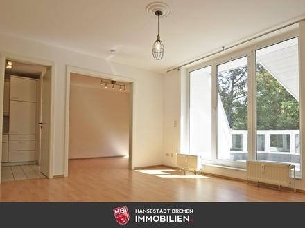 VERKAUFT / Schwachhausen / Anlage: Bürgerpark - moderne 2,5-Zimmer-Wohnung mit Balkon und Fahrstuhl