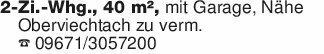 2-Zi.-Whg., 40 m², mit Garage,...