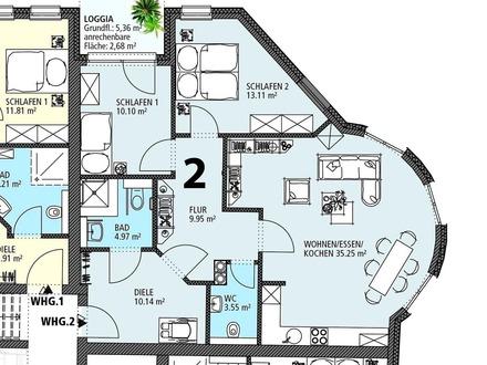Duhner Allee- 1. OG - Wohnung 2