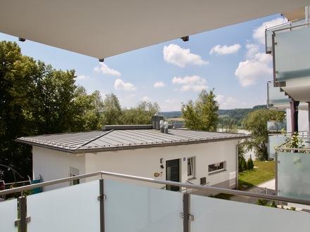 Nähe Klinik / Uni: Hochwertige 2-Zimmer-Wohnung mit Blick über den Inn