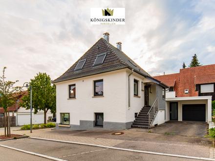 Kernsaniertes Wohnhaus in toller Lage mit Büro, Garage, Stellplätze, Terrasse, Lagerkeller und Gewölbekeller