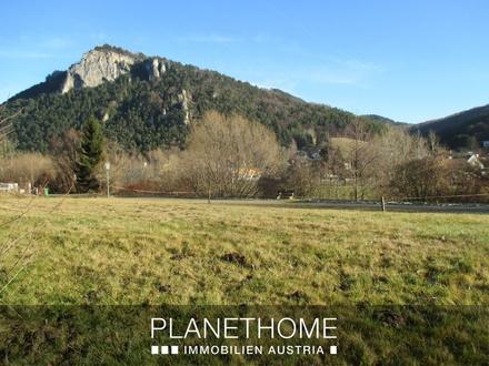 Baugrund in Gleißenfeld mit tollem Panoramablick