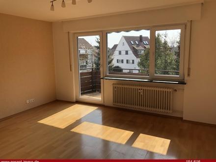 Sonnige 3 Zimmer-Wohnung mit Balkon in Möhringen
