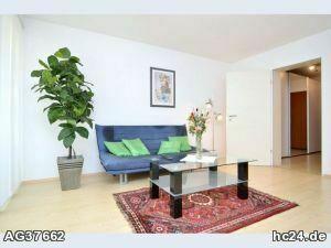 Modern möbelierte 2-Zimmer-Wohnung in Stein