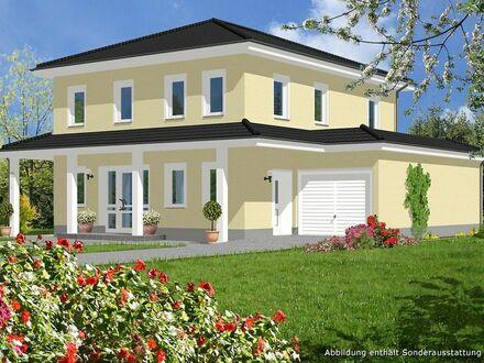 Ihr Einfamilienhaus mit umlaufender Attika inklusive Grundstück
