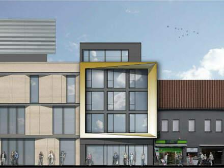 Über den Dächern der Bielefelder Innenstadt! Exklusive 2 ZKB-Penthousewohnung mit Dachterrasse in der Fußgängerzone (Bahnhofstraße)!