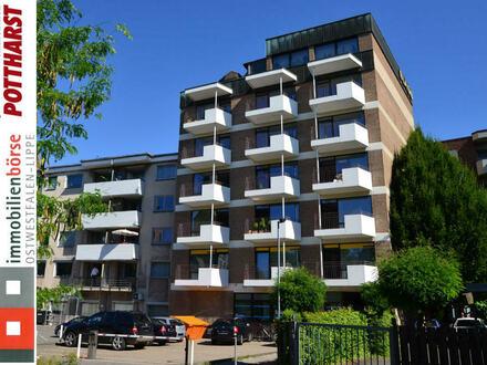 Gemütliche Wohnung mit tollem Ausblick auf die Herforder Innenstadt!