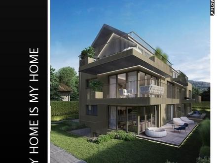AIGEN ERLEBEN | moderne Life-Style-Terrassenwohnung im Grünen