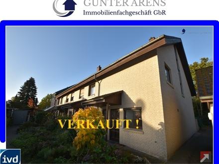 Reihenendhaus mit Garage an zentrumsnaher, ruhiger Lage in Oldenburg - Osternburg